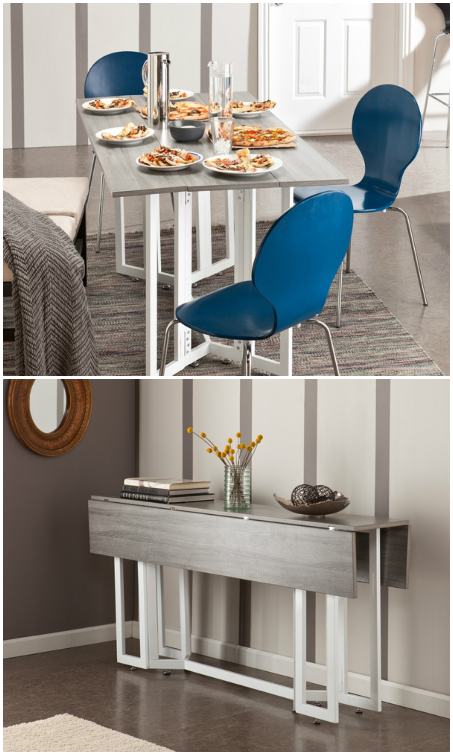 14ae0012abd Twenty dining tables that work great in small spaces - Living in a ...