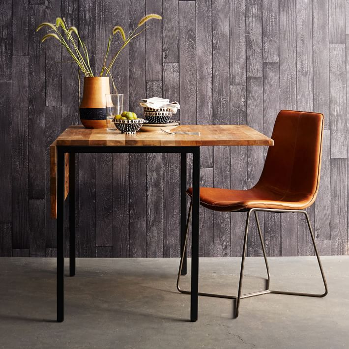 twenty dining tables that work great in small spaces - Narrow Dining Room Table With Leaves