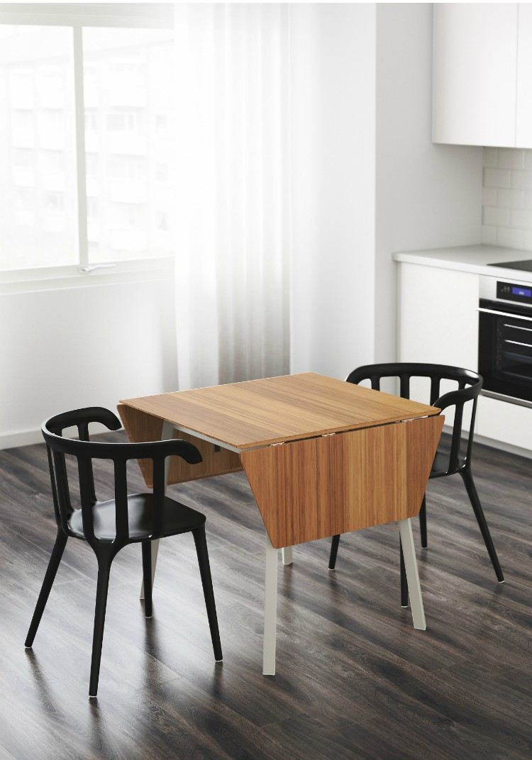 bde04baab7a5 Twenty dining tables that work great in small spaces - Living in a ...
