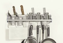 plumeet-multifunctional-aluminum-wall-hanging-kitchen-rack-with-shelvesbottle-racksvarious-hanger-hooks-pot-organizers-for-kitchen-organization