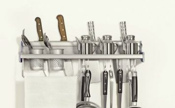 plumeet-multifunctional-aluminum-wall-hanging-kitchen-rack-with-shelvesbottle-racksvarious-hanger-hooks-pot-organizers-for-kitchen-organization