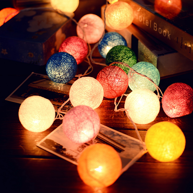 14 trendy ideas for decorating your home with light living in a shoebox - Cotton ballspractical ideas ...