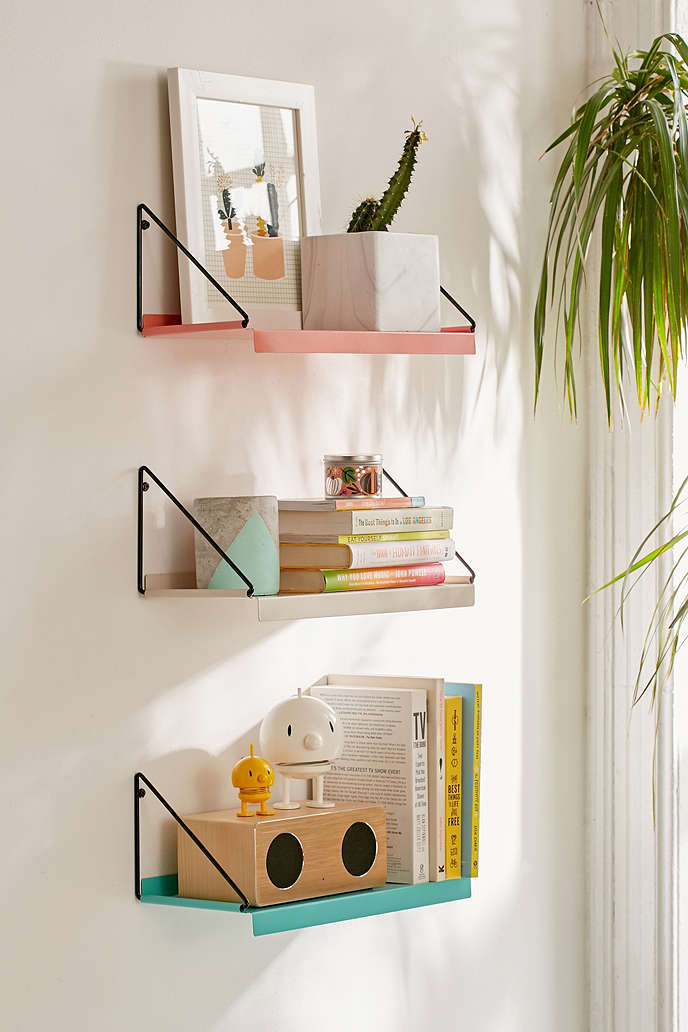 Twenty Wall Shelves That Add Style As Well Storage To