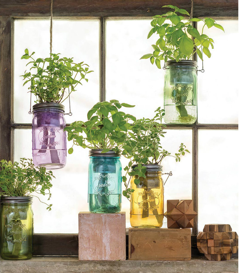 mason-jar-indoor-herb-garden-1