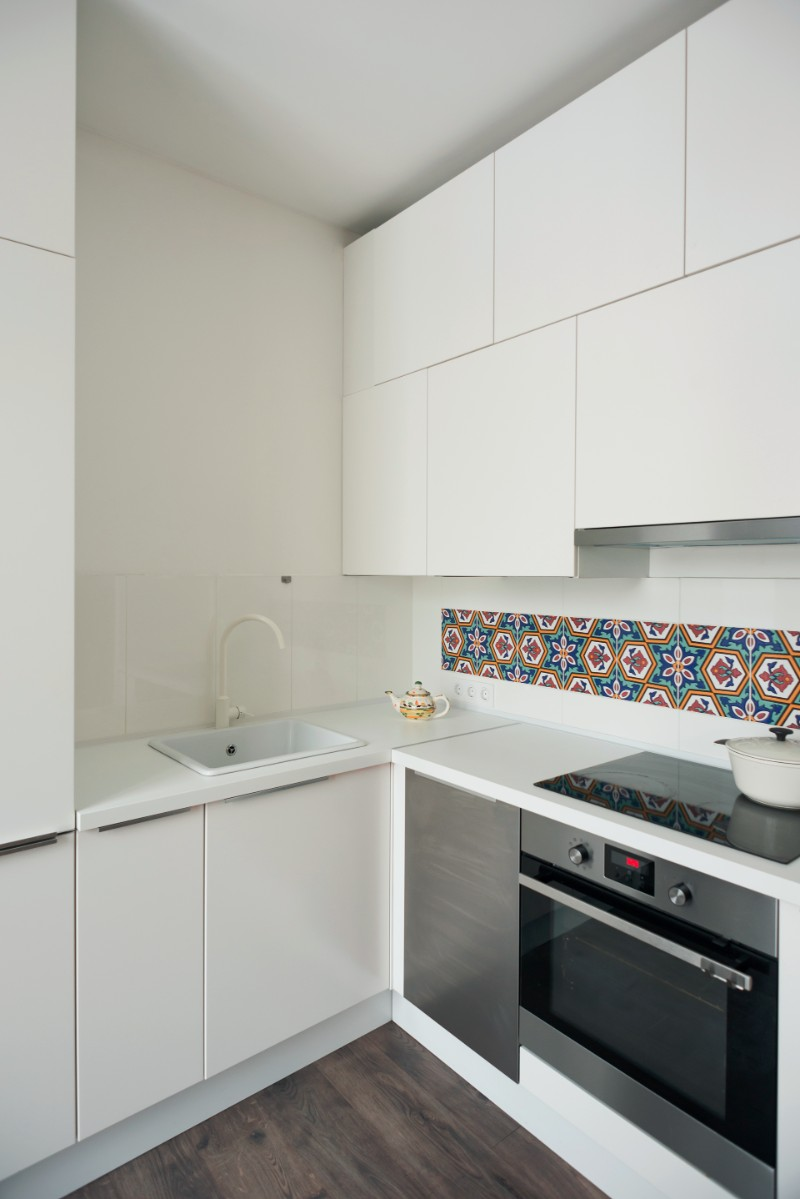 Studio Bazi small flat 13 - The designer's small studio apartment features an ingenious loft bed packed with storage