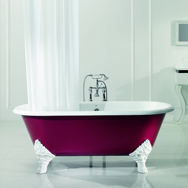 Five Ways To Add Color To A Bathroom Living In A Shoebox