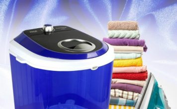 Electric Small Portable Compact Washer