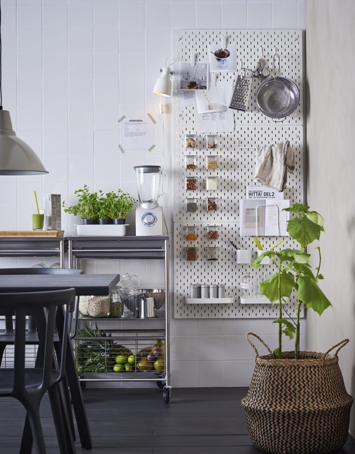 ikea 39 s new sk dis pegboard is every neat freak 39 s dream