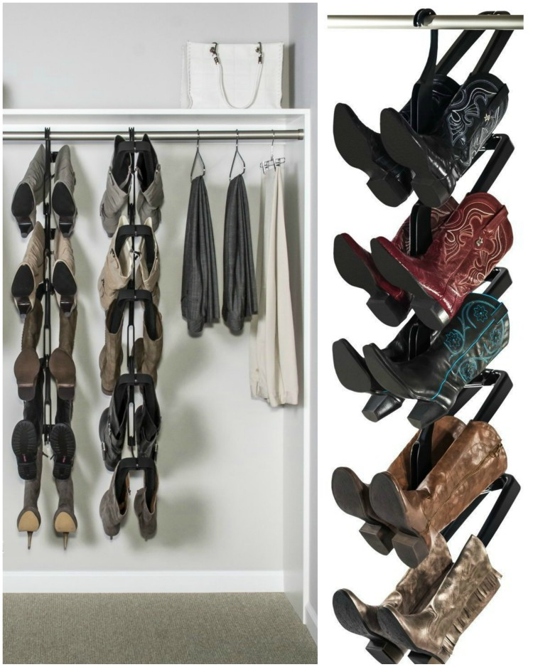 Boot Butler Rack 69 99 Reclaim Your Closet And Extend The Life Of Boots By Preserving Their Shape Preventing Creases Caused Slouching