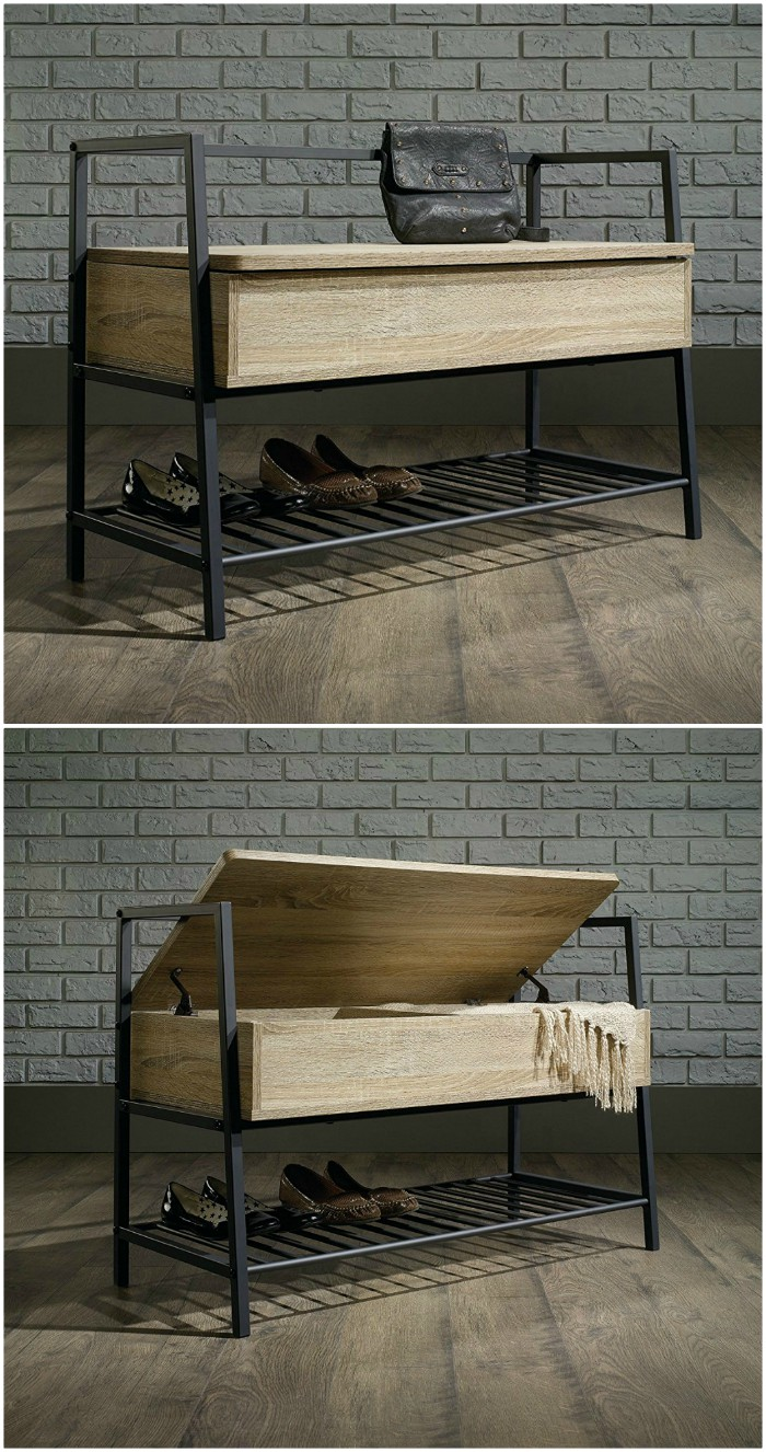 shoe bench - Get your shoes and boots under control with these 12 storage ideas