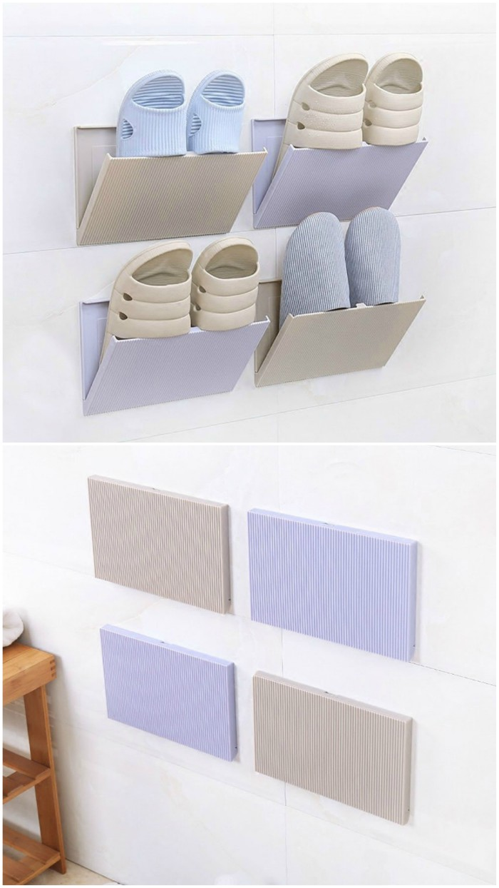 shoe storage wall pockets - Get your shoes and boots under control with these 12 storage ideas