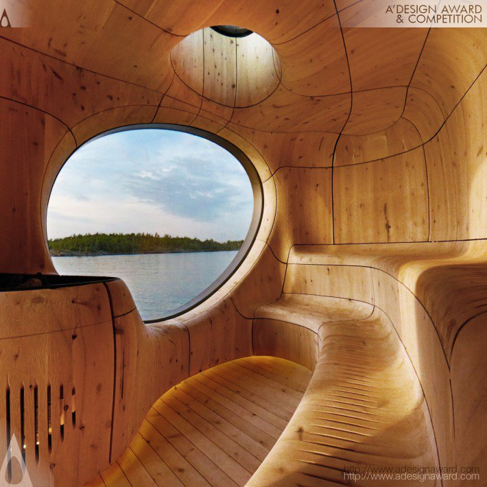 Grotto Sauna by PARTISANS - Top 20 A' Design Award Winners