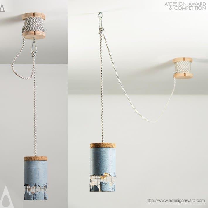 Slash Lamp by Motica Dragos - Top 20 A' Design Award Winners
