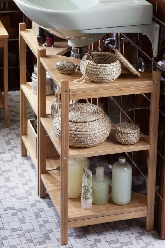 10 Amazing Ideas To Utilize The Space Under The Sink For Storage: The Best Organization Ideas From The 2018 IKEA Catalogue