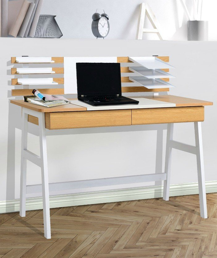 HomCom Contemporary Design Secretary Modern Writing Desk