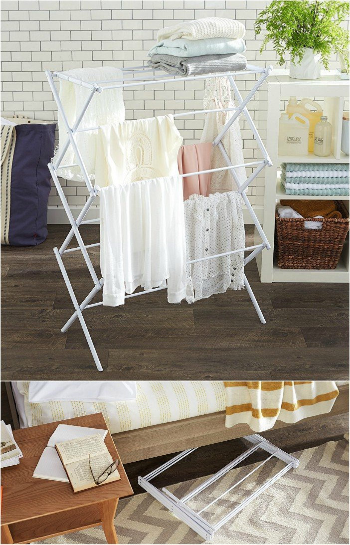 10 Space Saving Drying Racks For Small Spaces Living In