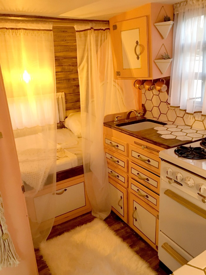 Sasha Glass blows new life into old vintage campers - Living