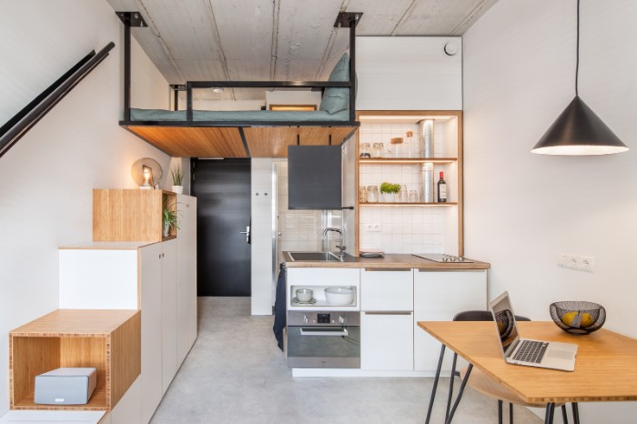 Standard Studio student housing Rotterdam 01 - This student apartment makes you want to go back to school