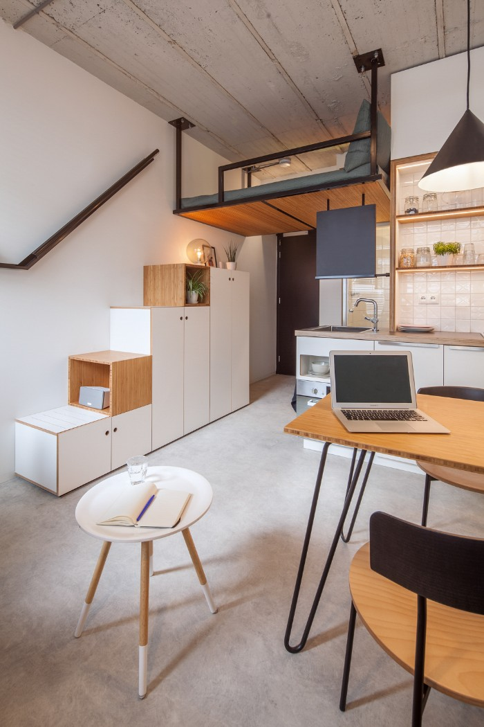 Standard Studio student housing Rotterdam 02 - This student apartment makes you want to go back to school