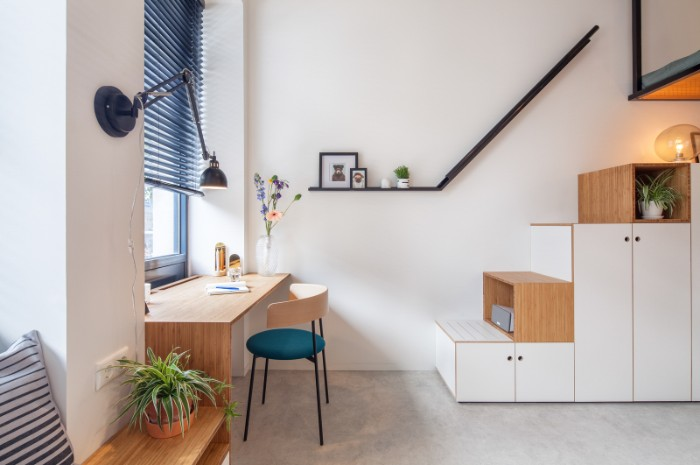 Standard Studio student housing Rotterdam 04 - This student apartment makes you want to go back to school