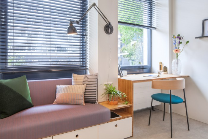 Standard Studio student housing Rotterdam 07 - This student apartment makes you want to go back to school