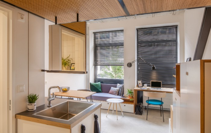 Standard Studio student housing Rotterdam 10 - This student apartment makes you want to go back to school