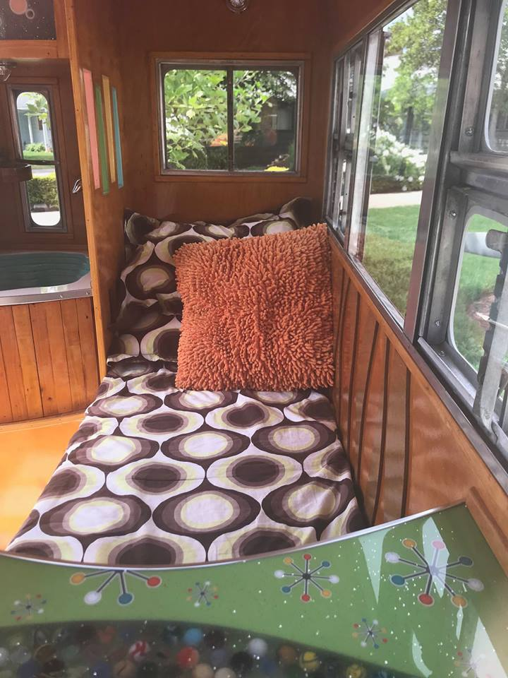 short trailer 2 - The world's shortest travel trailer clocks in at 4 feet but you don't have to curl up in the fetal position to sleep in it