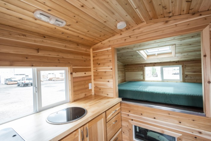 tiny traveler truck camper 11 - The Traveler is a truck camper with a rustic tiny house feel