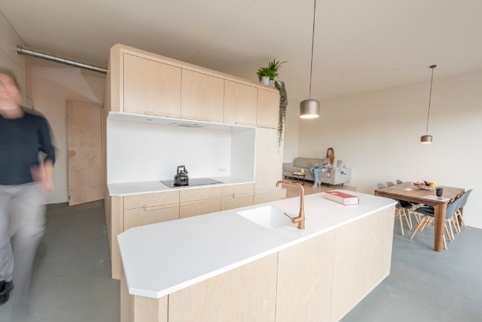 A Minimalist Loft Apartment For The Future Living In A Shoebox