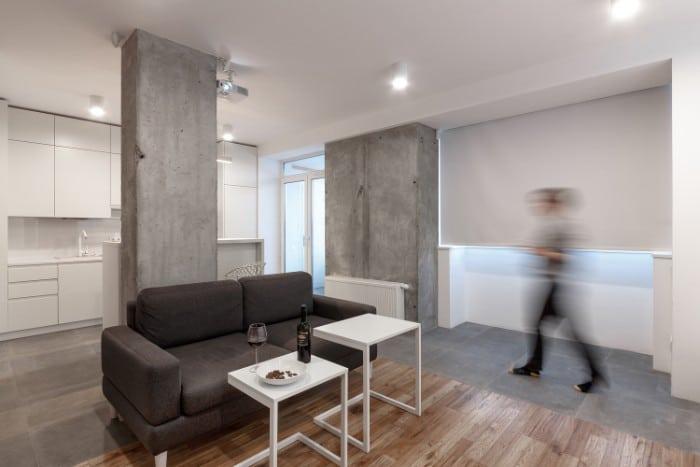 me2 - This 45m2 apartment is a multi-purpose masterpiece