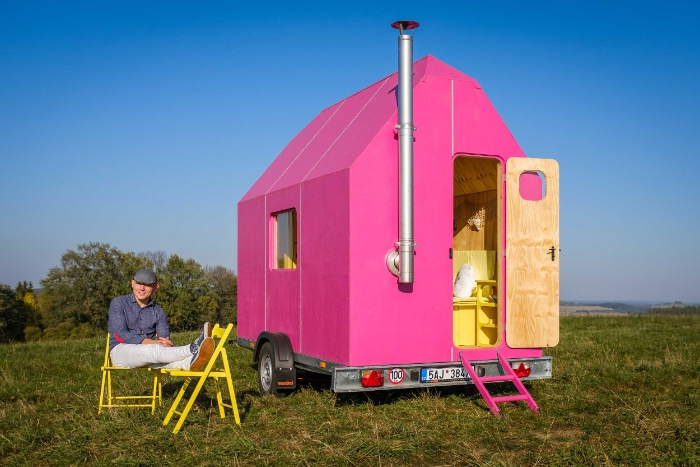 Prime The Magenta Tiny House Can Be Built For 2500 Dollars Living In A Wiring Cloud Oideiuggs Outletorg
