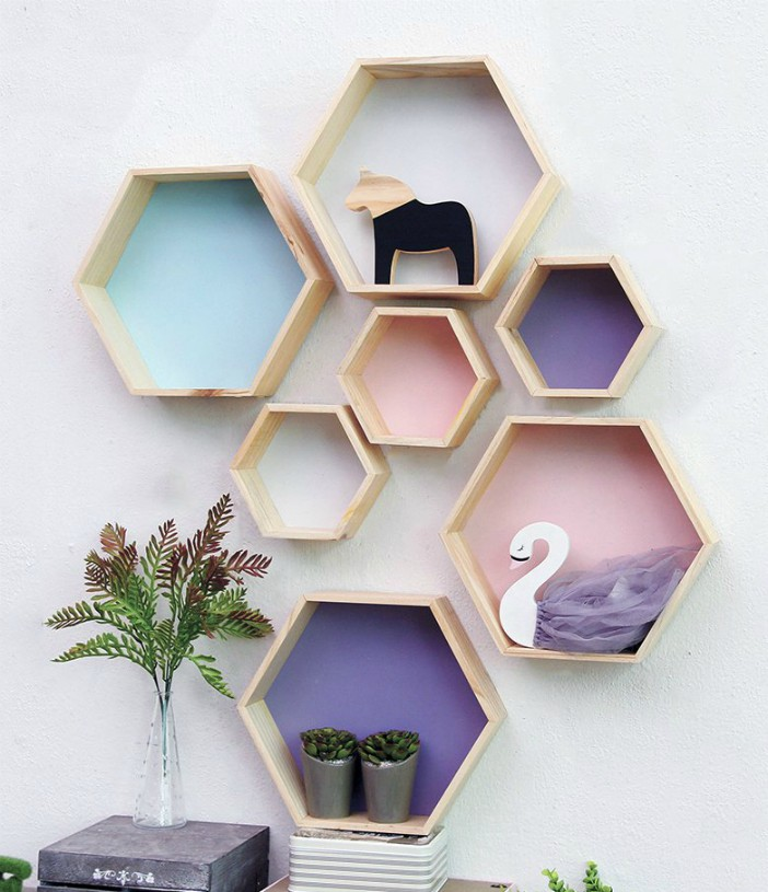 new product db7f6 c3376 15 beautiful wall shelves ideas for your home - Living in a ...