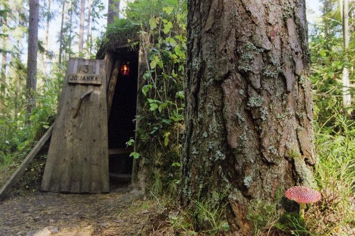 Claudia Deglau kolarbyn 01 - Sweden's most primitive hotel offers stays in charcoal burners' huts