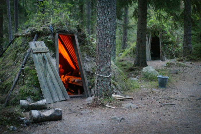 Mikaela Larm kolarbyn 01 - Sweden's most primitive hotel offers stays in charcoal burners' huts