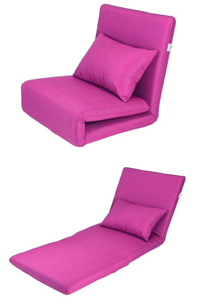 Pink Sleeper Chair