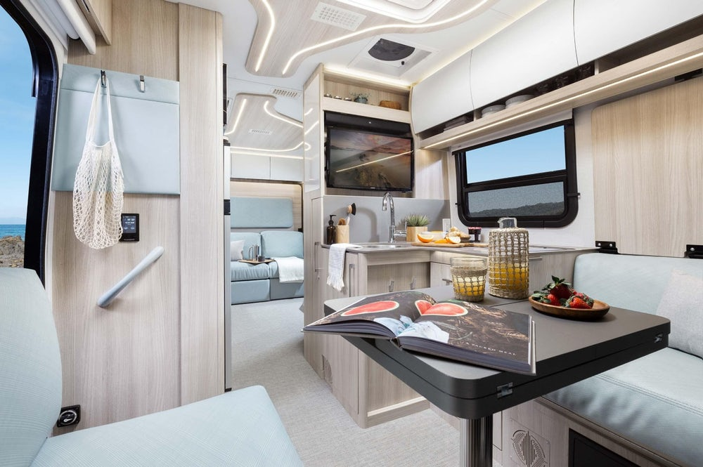 5c7d131e33 New campervan from Leisure Vans boasts space-saving murphy bed and two  living areas