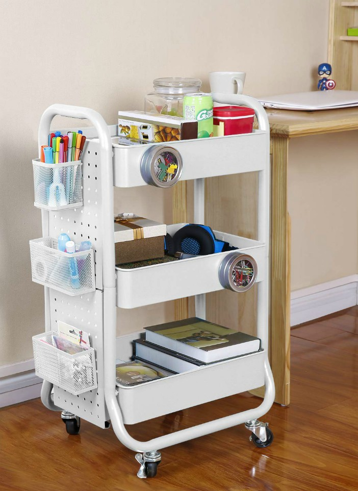 20 Stylish Rolling Carts That Add Extra Storage To Any Room Living