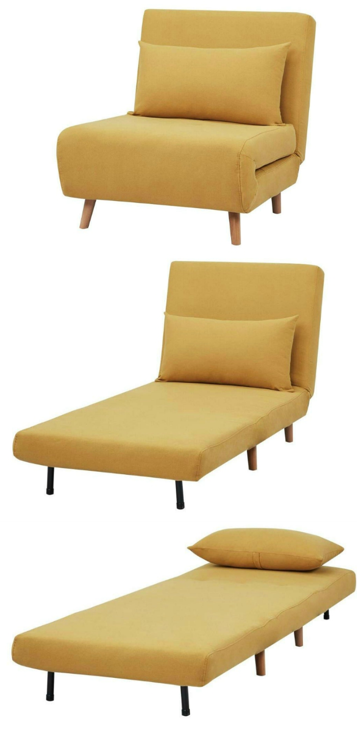 Phenomenal Ten Sleeper Chairs That Turn Any Space Into A Guest Room In Short Links Chair Design For Home Short Linksinfo
