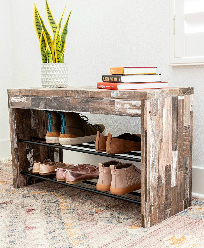 Danya B - 20 chic and practical entryway benches