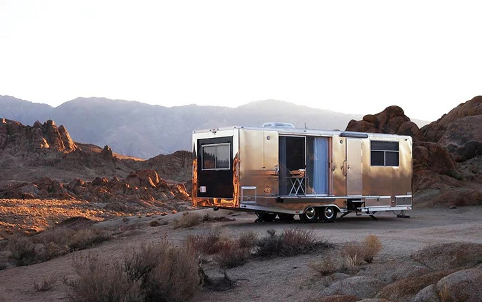 living vehicle trailer 14 - The Living Vehicle 2020 promotes luxurious off-the-grid camping