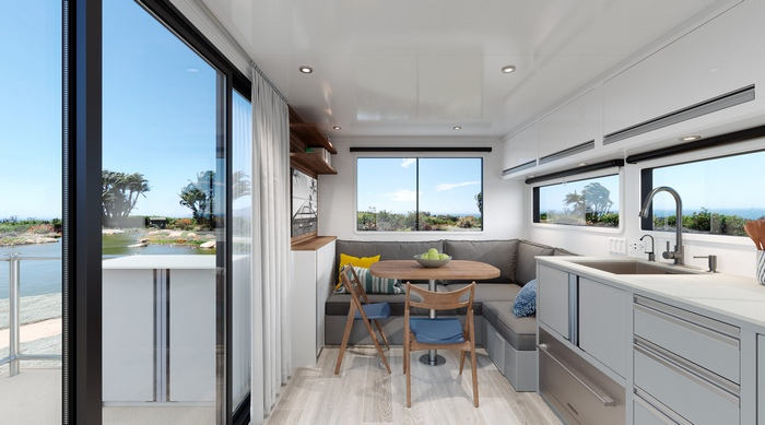 living vehicle trailer 5 - The Living Vehicle 2020 promotes luxurious off-the-grid camping