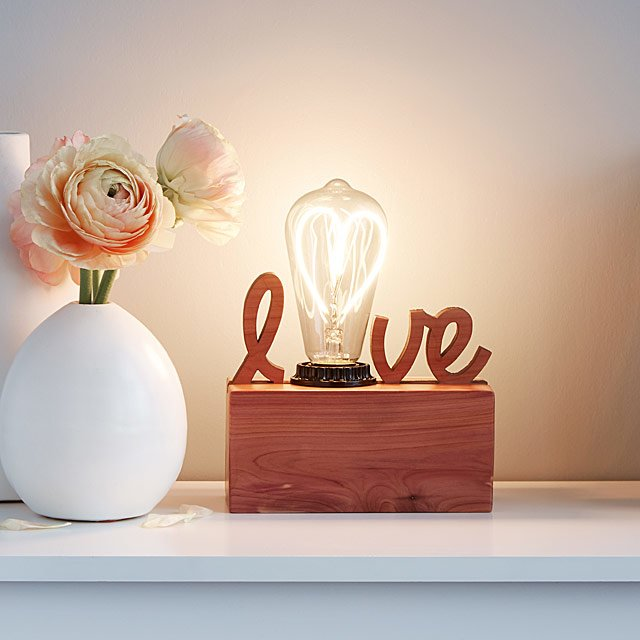 The Love Lamp - Eight brilliant gift ideas for Valentine's day