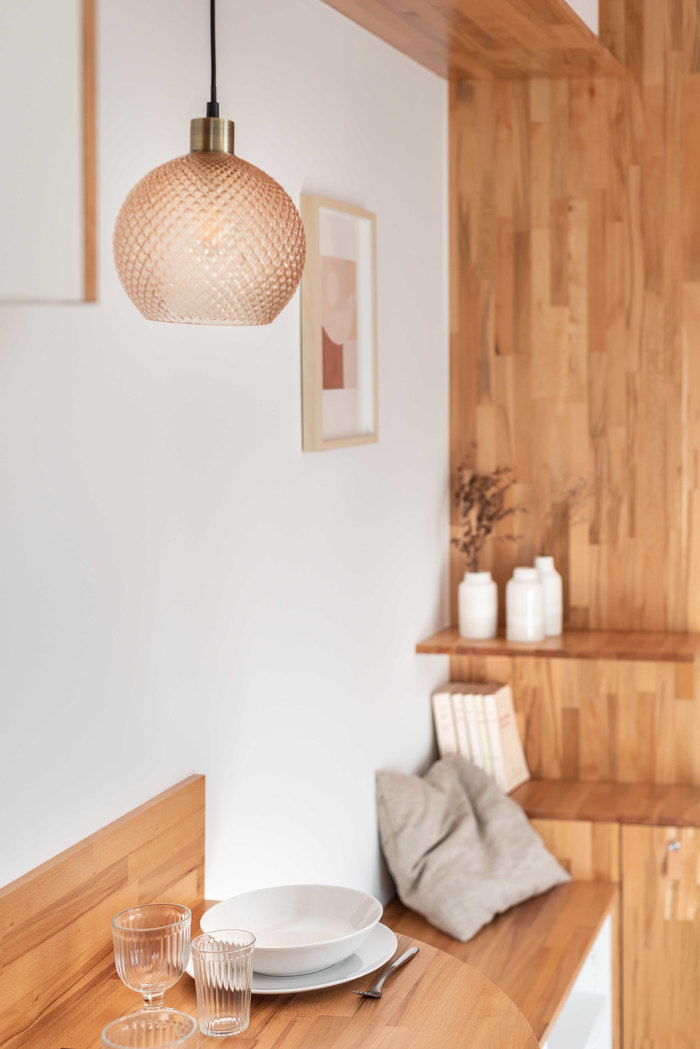 tiny french studio 4 - Tiny worn-out 14m2 studio transformed into cosy abode