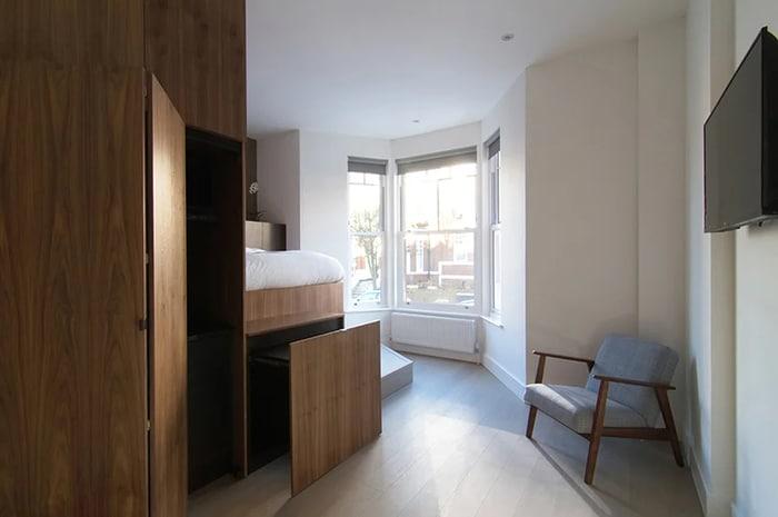 micro apartment blicboc 6 - London micro-apartments boast ingenious space-saving solutions