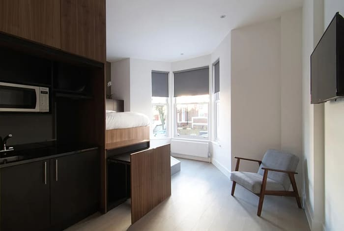 micro apartment blicboc 7 - London micro-apartments boast ingenious space-saving solutions