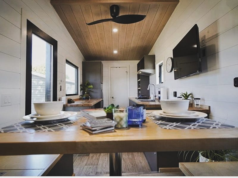 tiny house gosun off grid 10 - GoSun launches $69,500 solar-powered tiny house designed to last over a month off-grid