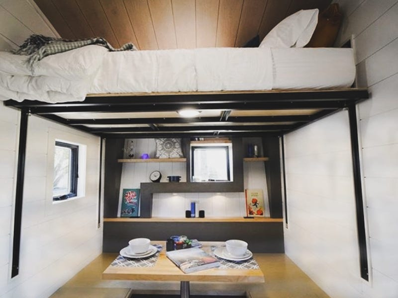 tiny house gosun off grid 12 - GoSun launches $69,500 solar-powered tiny house designed to last over a month off-grid