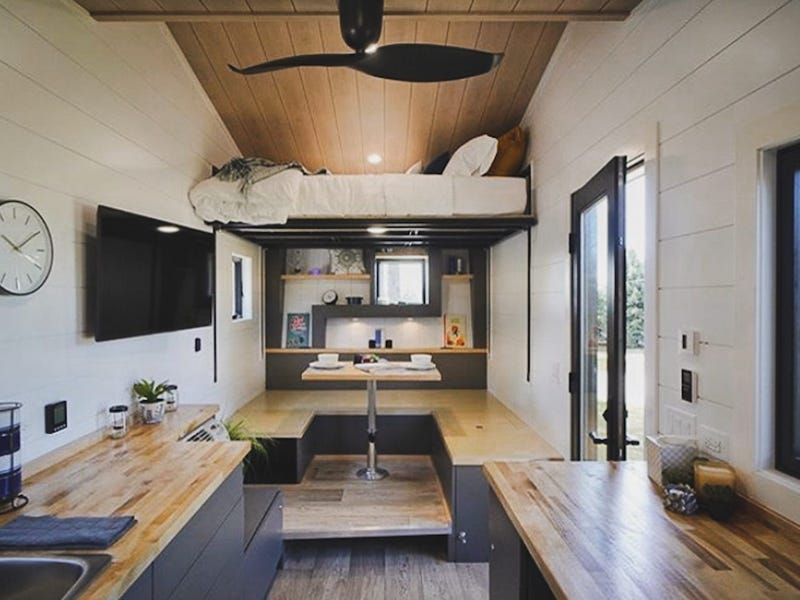 tiny house gosun off grid 5 - GoSun launches $69,500 solar-powered tiny house designed to last over a month off-grid