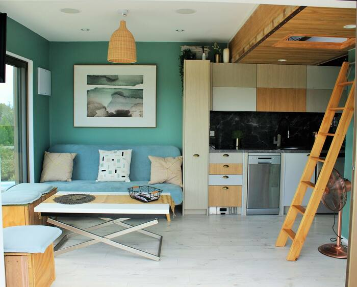 Dom and Jacos Kaitoke Tiny House 2 - These 10 Airbnb tiny houses let you experience compact living in style