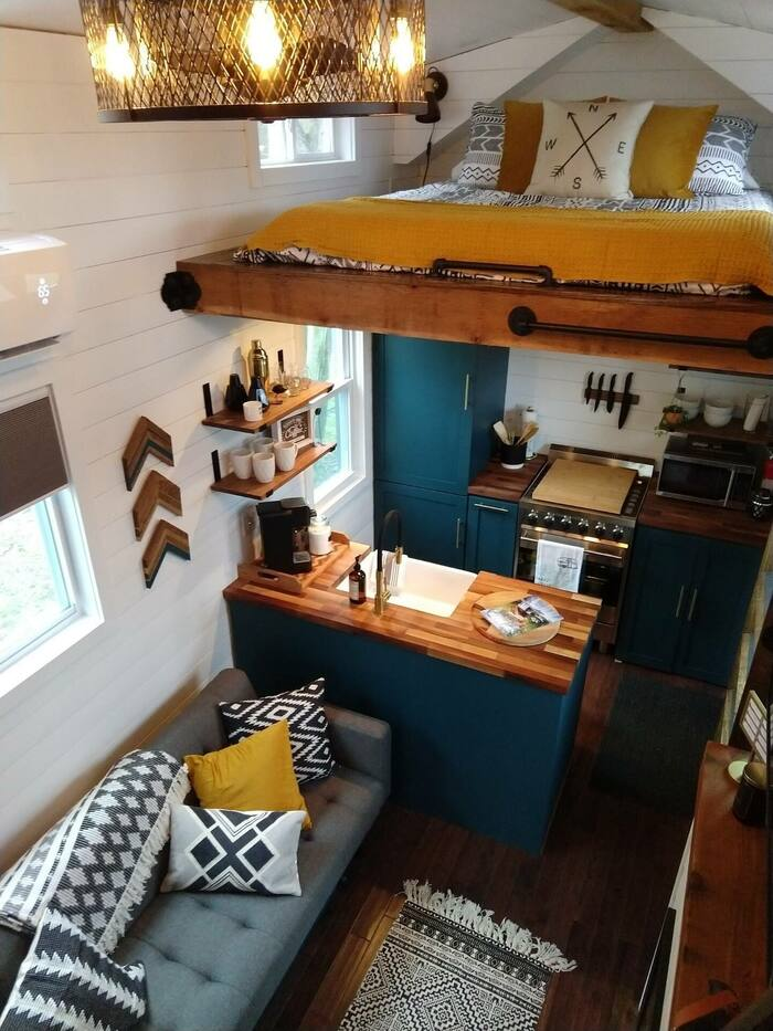 Little Eventyr Tiny House of the Laurel Highlands 2 - These 10 Airbnb tiny houses let you experience compact living in style